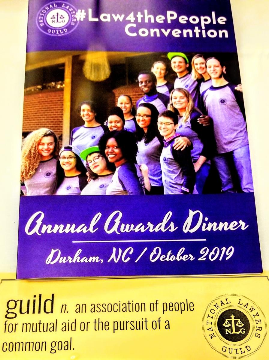 Annual Awards Dinner Pamphlet
