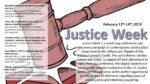 Justice Week 2019