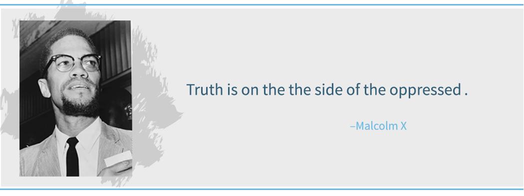 Quote - Malcolm X